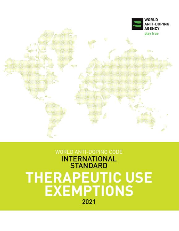 International Standard for Therapeutic Use Exemptions (ISTUE)