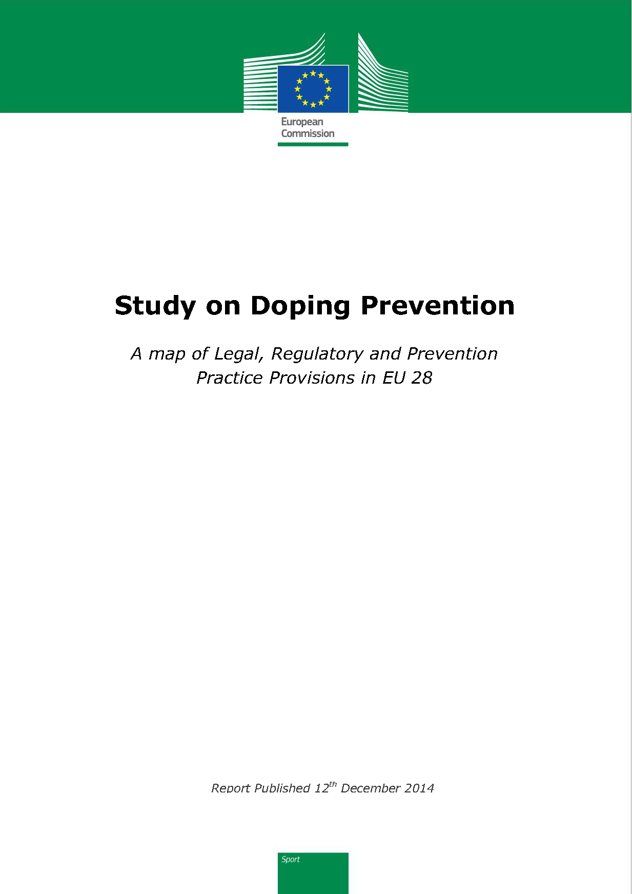 Study on Doping Prevention