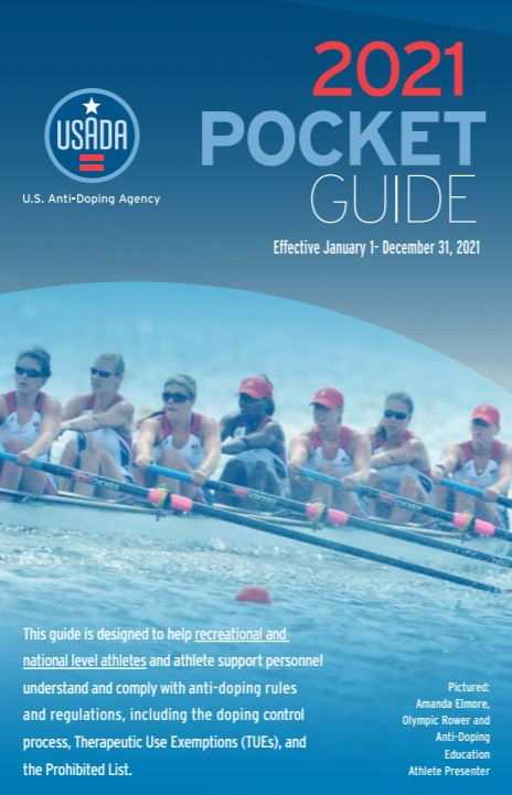 USADA Pocket Guide for Recreational and National-Level Athletes