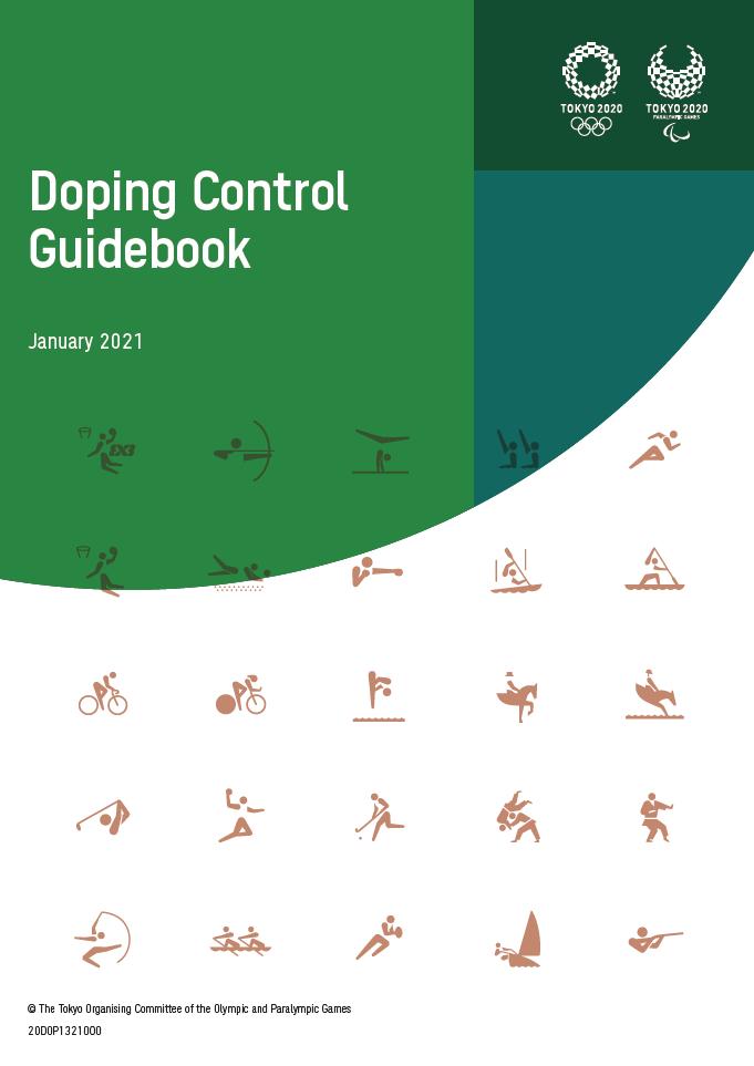 Tokyo 2020 Doping Control Guidebook