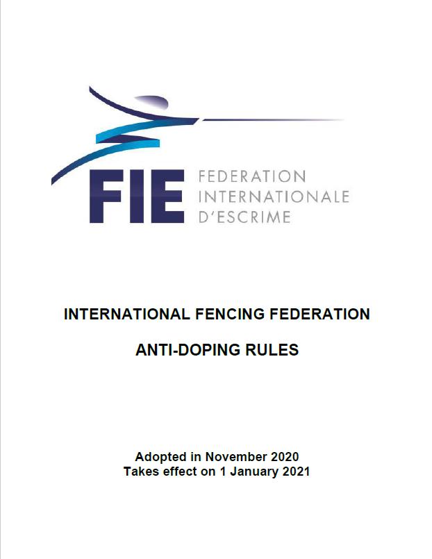 FIE Anti-Doping Rules